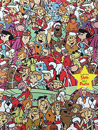 Hanna Barbara Cartoons Christmas Gift Wrapping Paper -40 Square Feet 1 Roll]()