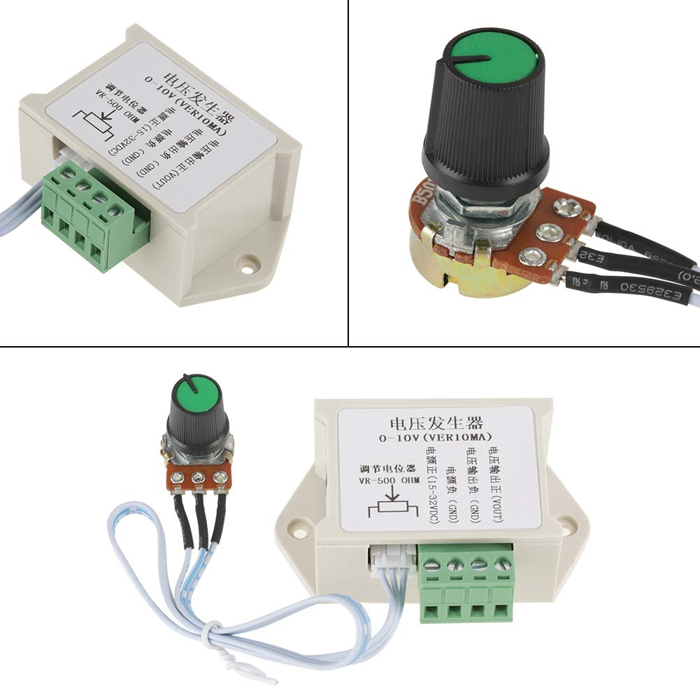 0-10V 10mA Adjustable Analog Voltage Signal Generator Power Supply Module Used for PLC MCU Industrial Controller Signal Generator DC Voltage Generator Module