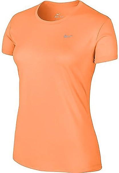 47b52efc Amazon.com: Nike Women's Challenger Short Sleeve T-SHIRT (LARGE, PEACH):  Sports & Outdoors