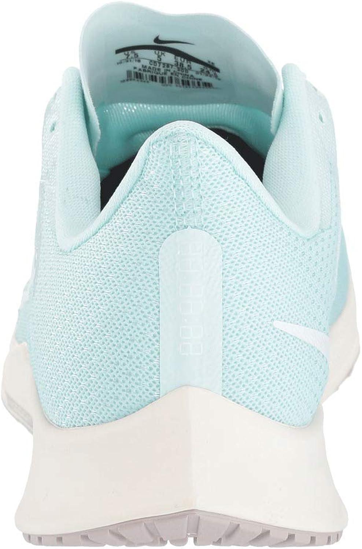 Nike Wmns Zoom Rival Fly, Chaussures D\'athlétisme Femme Teinte Bleu Sarcelle Blanc Fantôme Ivoire Pâle