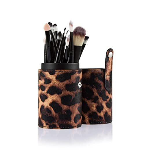 a3a6e05280a3 Amazon.com: Cosmetic Cup Holder Travel with 20 pcs Brush Set,Makeup ...