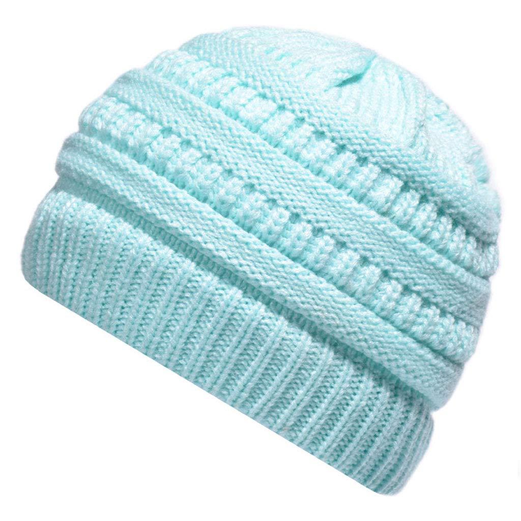 011feec53 Sombrero Casual De Punto Cálido De Otoño E Invierno para De Damas ...