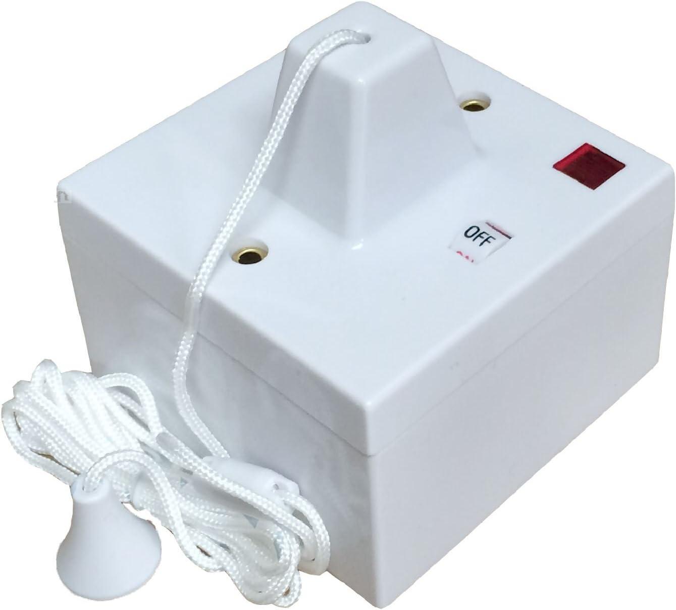 16 Amp Double Pôle Interrupteur à tirette avec Neon