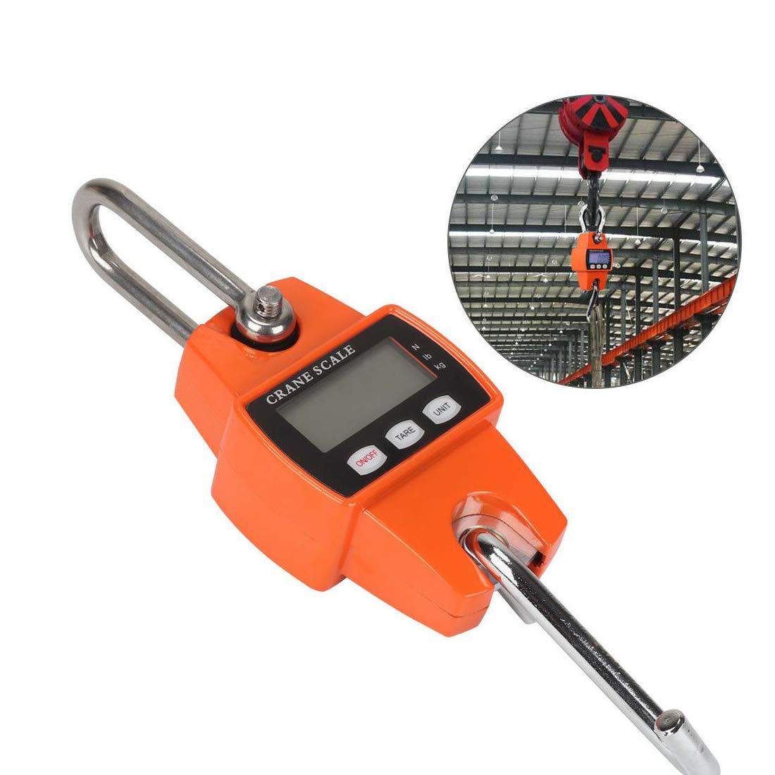 B/áscula electr/ónica para gr/úa tama/ño mini colgante 300 kg