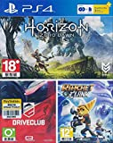 PS4 Horizon Zero Dawn + Drive Club + Ratchet & Clank - PlayStation 4 [PS4]