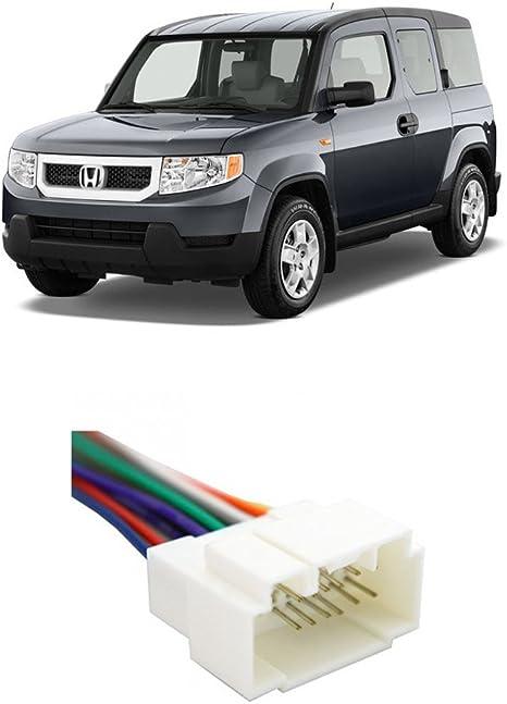 car radio wiring installation parts Stereo Install Dash Kit Honda Element 03 04 05 2005