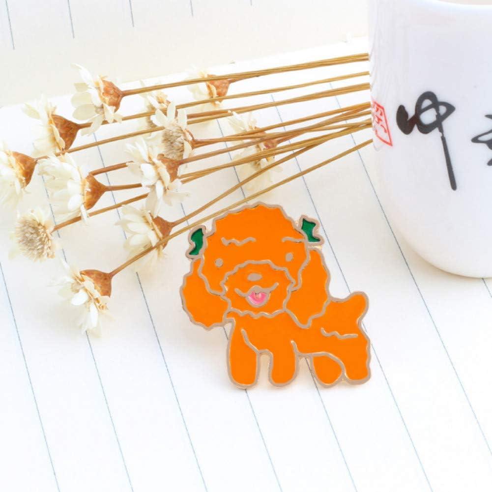 ERDING Broches/10 Estilos Broches de Dibujos Animados para Amantes de los Perros Mini Cachorro Animales Esmalte Insignia Pins Regalo para Perro mamá Ropa Accesorios Pin Joyería
