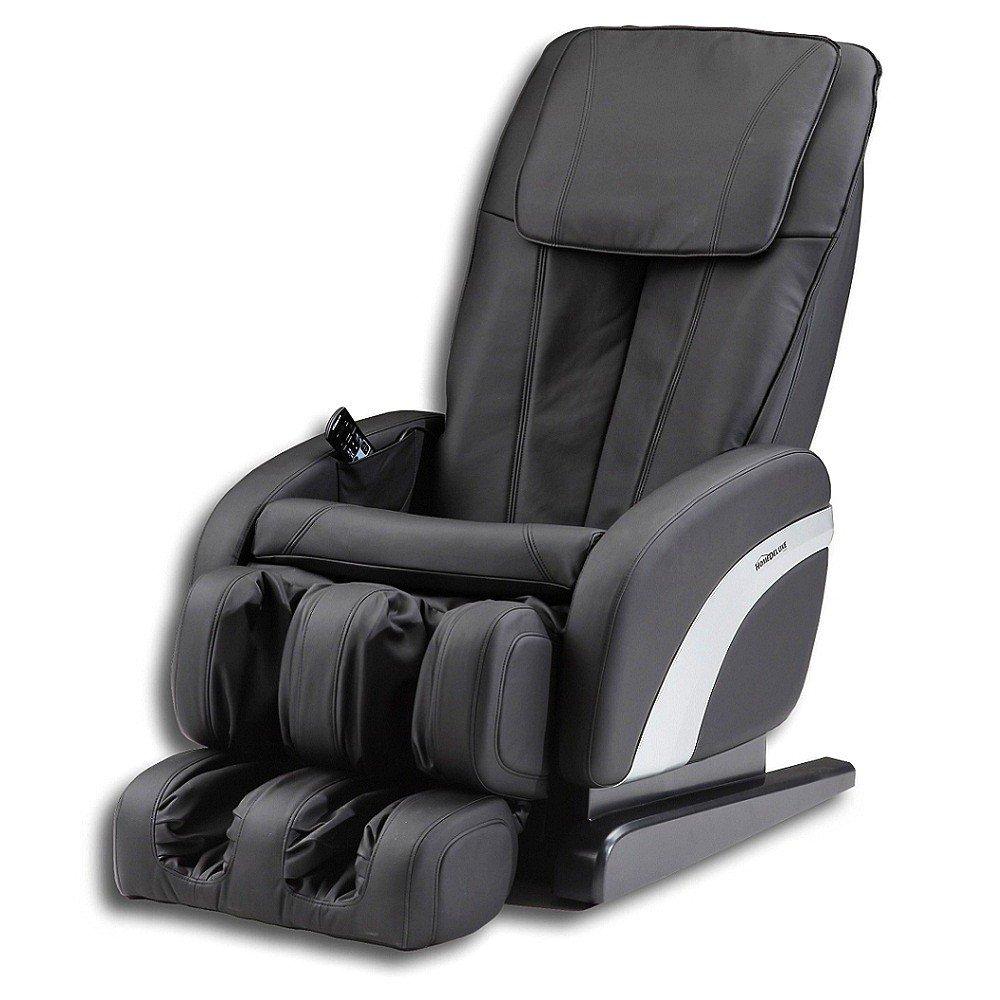 Home Deluxe Sueno schwarz Massagesessel, inkl. komplettem Zubehör