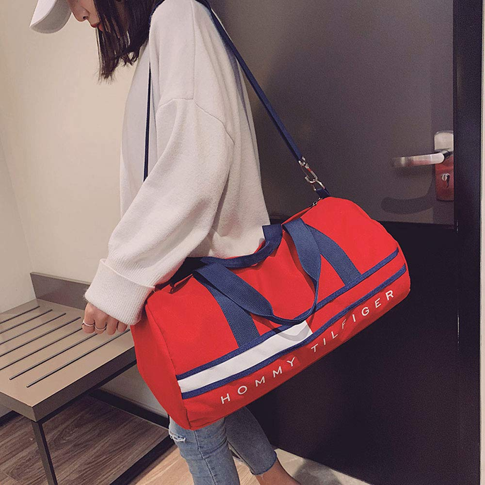44cmx22cmx22cm Gym Bags XF Gym Totes Sports Bag Fitness Bag Female Short-Distance Wet and Dry Separation Sports Training Bag Mens Hand Luggage Bag Large-Capacity Travel Bag