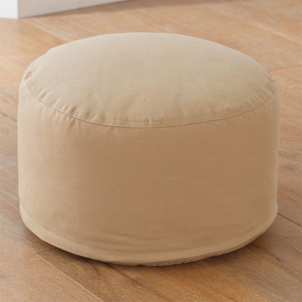 KidKraft Round Pouf, Oatmeal by KidKraft