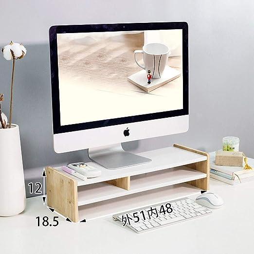 Ajustable Organizador de escritorio con cajón Madera soporte ...