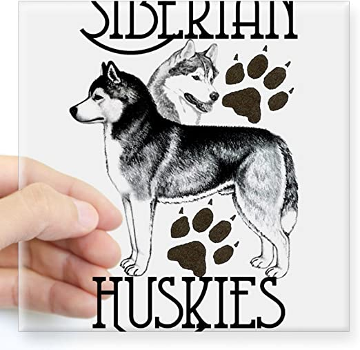 YOUR CAR WOULD ALSO LOOK LIKE THIS IF YOU OWNED A HUSKY Funny//Novelty Sticker