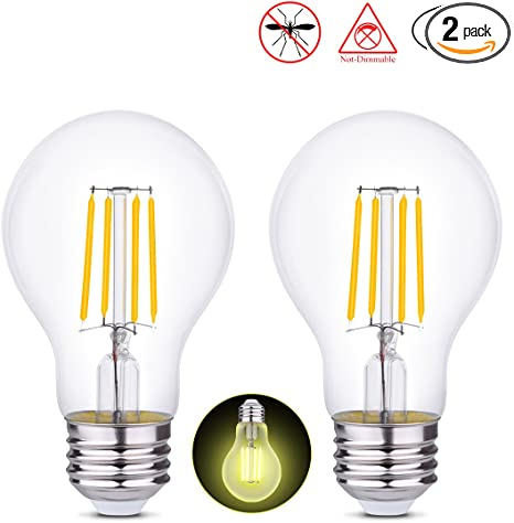Hola Edison Bulb Led Light Bulbs Filament Light Bulbs A19 4w 40w Equivalent Vintage Porch Lights