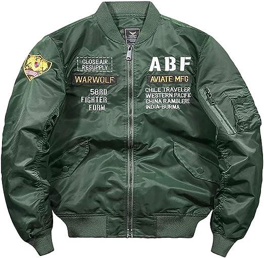 メンズウォータープルーフジャケット、刺繍入りコートフライトウィンドプルーフウィンドブレーカー、ボンバーフライトジャケット