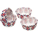 Sweetly Does It Paper Cake Cases - Union Flag Pack of Sixty