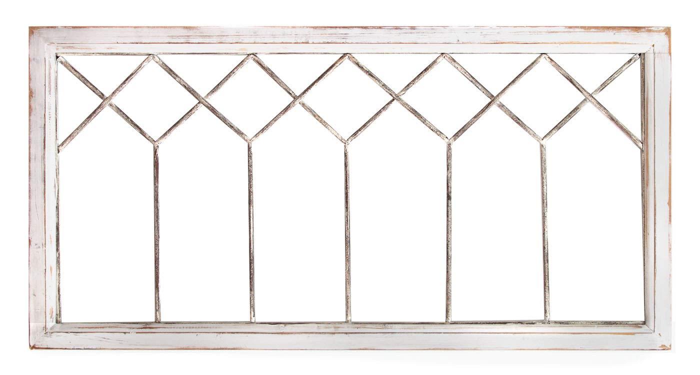 Stratton Home Decor -- Dropship, us home, SUHQX Stratton Home Distressed Window Panel Wall Decor Décor, Distressed White by Stratton Home Decor -- Dropship, us home, SUHQX