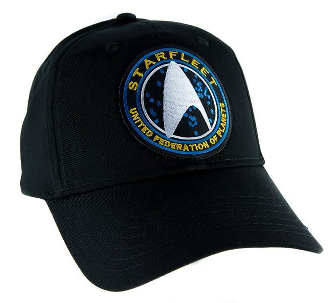 9382d8e71ed Image Unavailable. Image not available for. Color  Starfleet Enterprise Star  Trek Hat ...