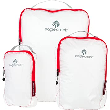 48b43ef8637b Eagle Creek Pack-It(tm) Specter Cube Set Luggage Accessory White/Red ...