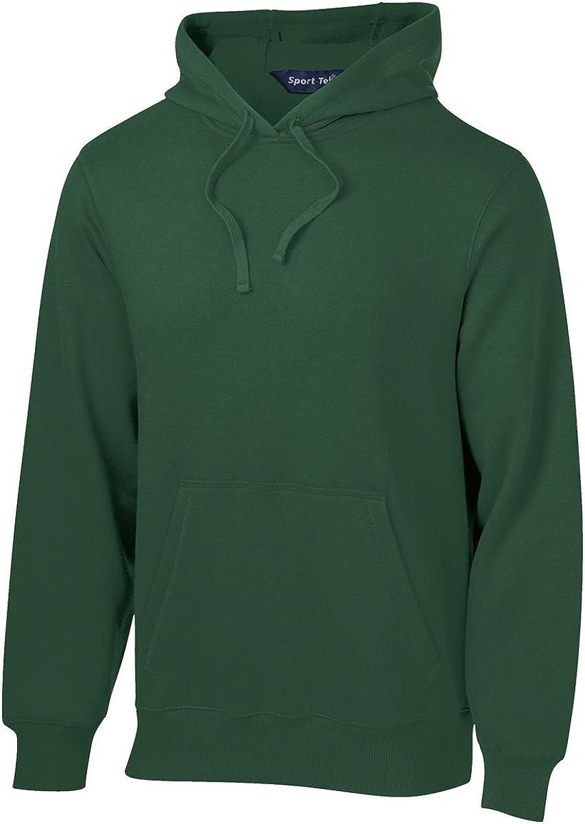 SPORT-TEK Mens Pullover Hooded Sweatshirt