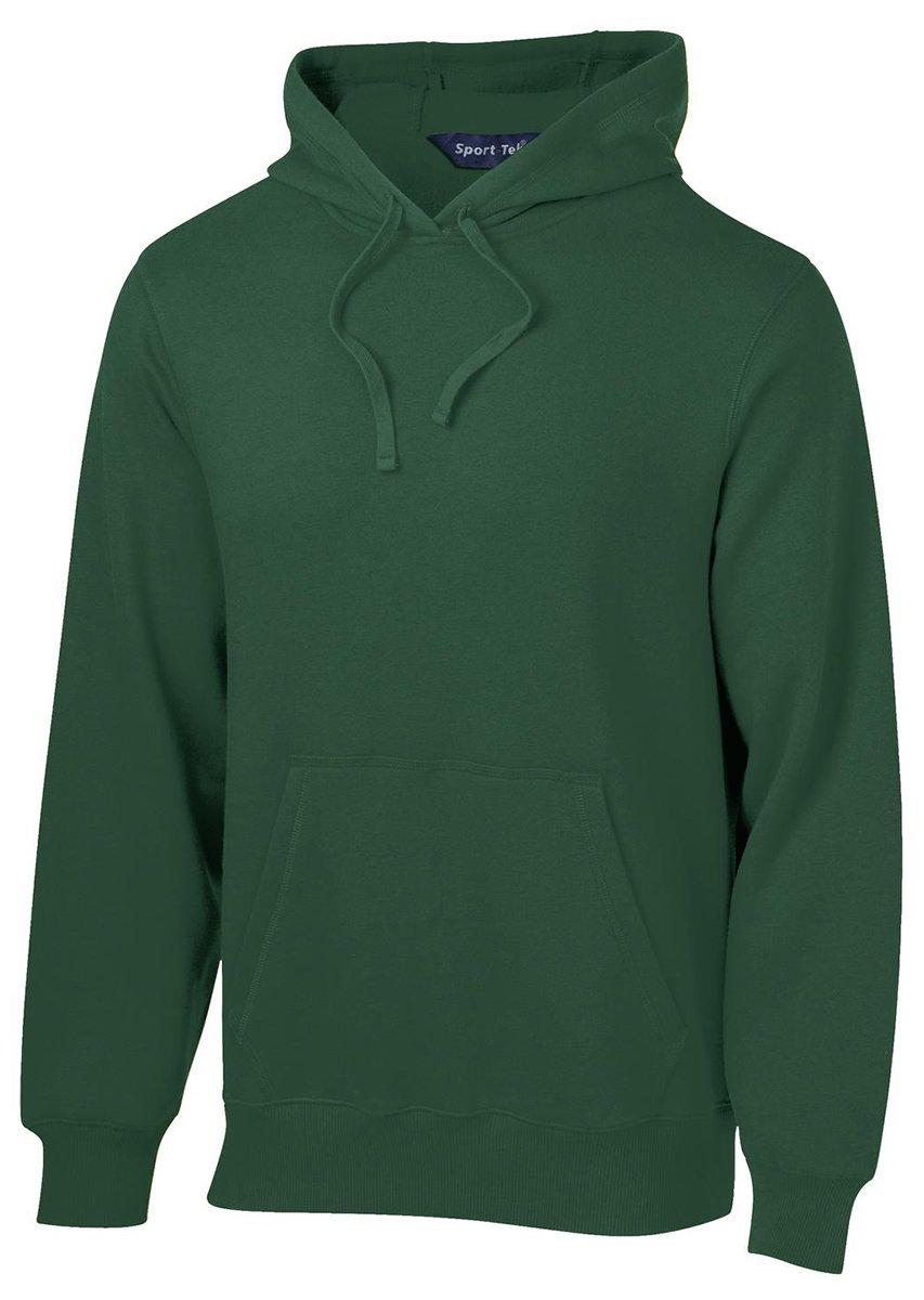 Sport-Tek Men's Tall Pullover Hooded Sweatshirt LT Forest Green by Sport-Tek