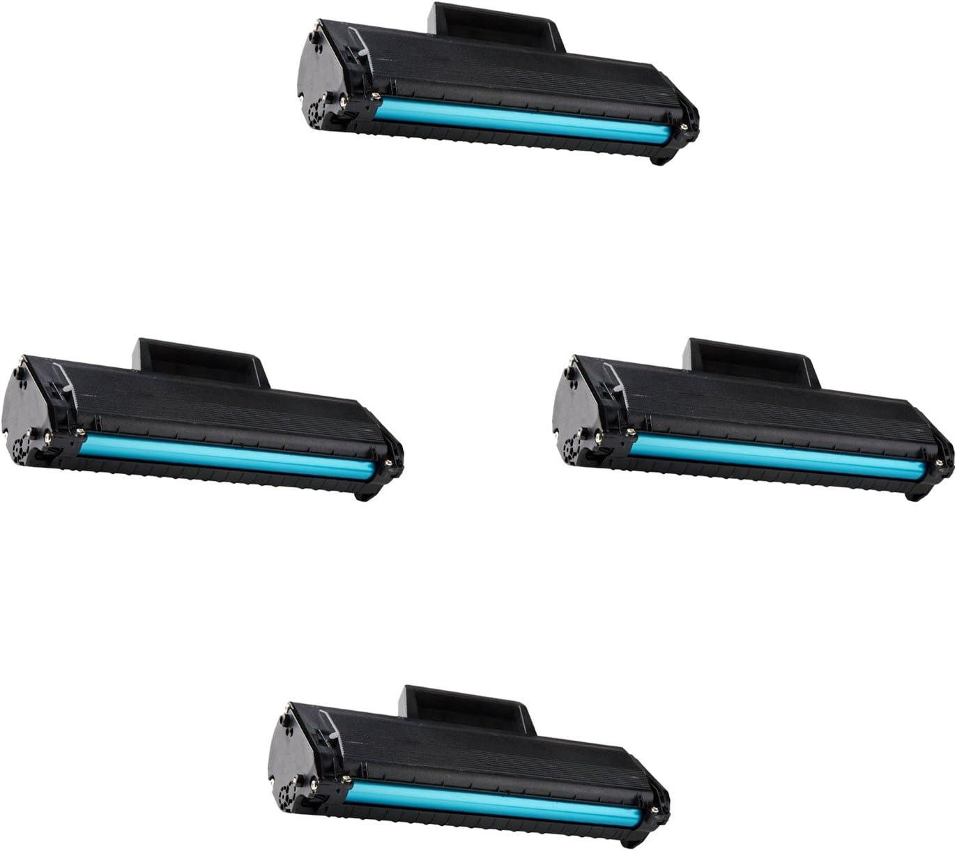 2pk 331-7335 HF442 Black Toner Cartridge for Dell B1165nfw B1160 B1160w Printer