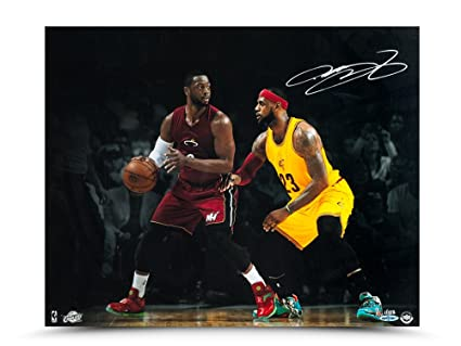 "c5519967e Image Unavailable. Image not available for. Color  LeBron James Autographed  "" ..."
