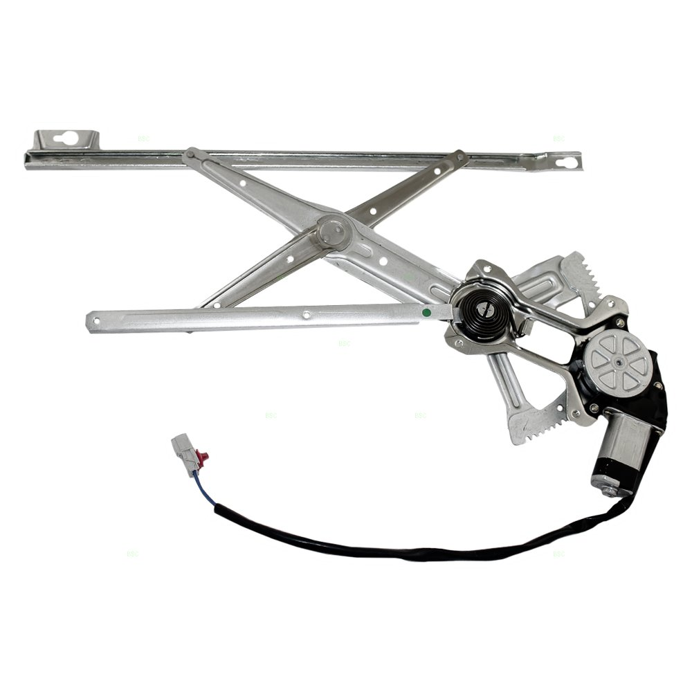 Drivers Front Power Window Lift Regulator with Motor Assembly Replacement for Honda 72251SM4003