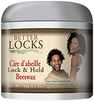 Amazon Com Better Locks Lock Hold Beeswax 5 5 Ounce Beauty
