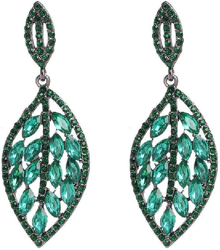Boucles DOreilles /À Feuilles Avec Cadeau Pour Femme Hypoallerg/énique 2Pcs Earrings