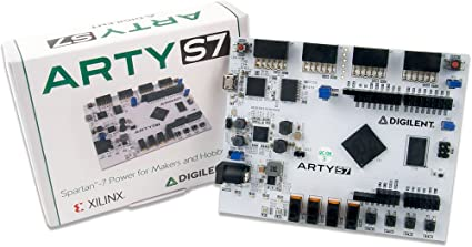 Digilent Arty S7: Spartan-7 FPGA Board for Makers and