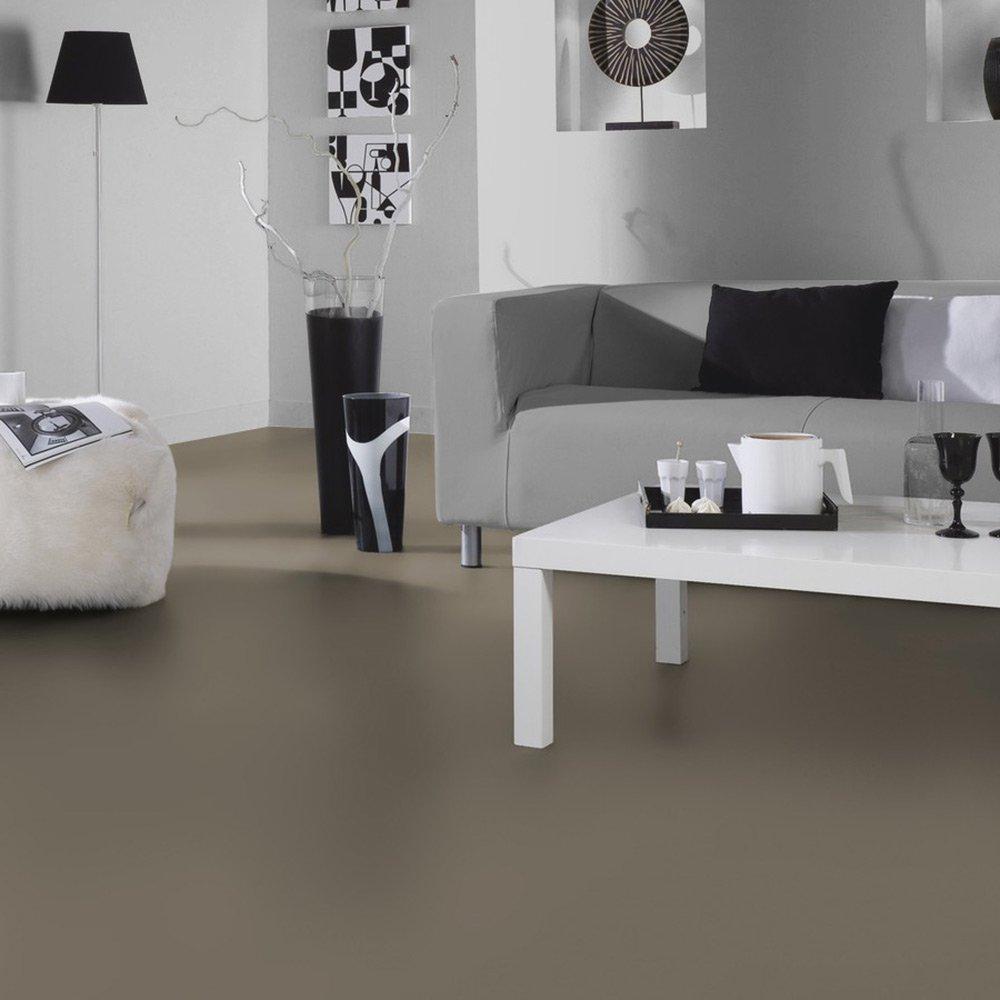 L/änge variabel Meterware livingfloor/® PVC Bodenbelag Fotohintergrund Einfarbig Taupe in 2 m Breite Gr/ö/ße:6.50x2.00 m