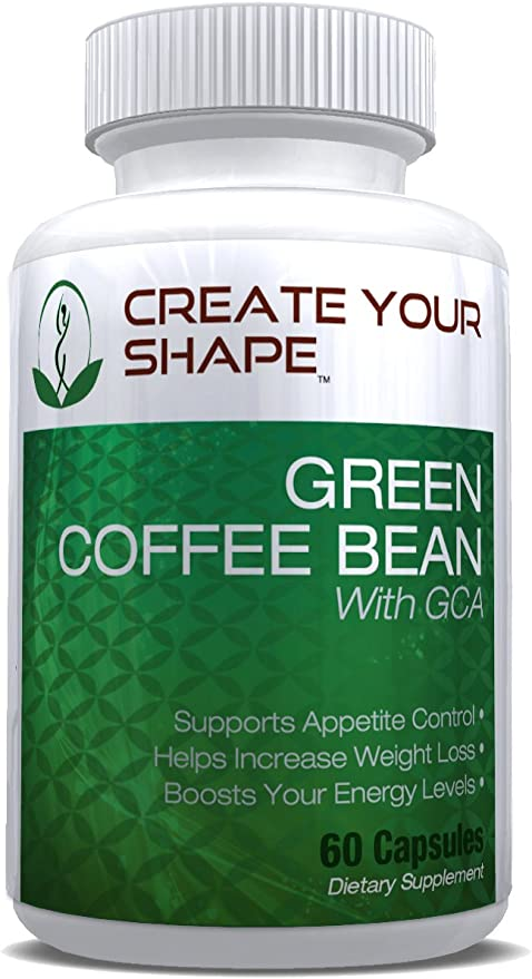 Amazon Com Create Your Shape Green Coffee Bean Extract 800 Mg