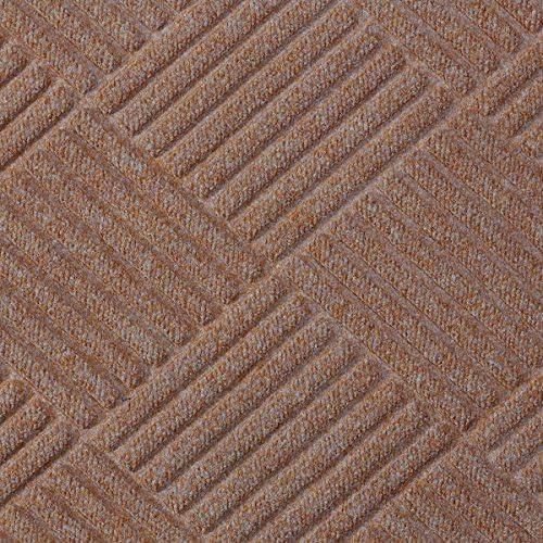 Half-Circle Waterhog Grand Premier Door Mats – Khaki 6 x 3.3