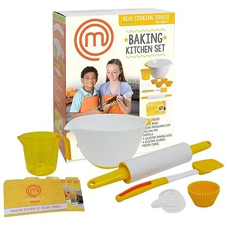 Amazon Com Masterchef Junior Baking Kitchen Set 7 Pc Kit