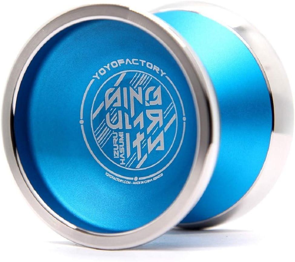 YoYoFactory Singularity Yoyo Aqua with Silver Rim
