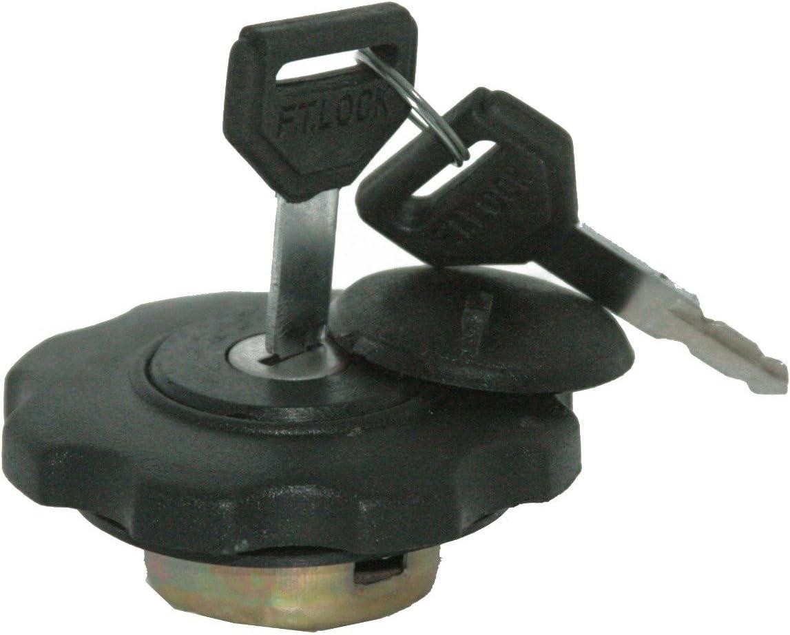 2 Keys RS Vintage Parts RSV-B00ZLQT01S-00475 Model JCB Lockable Diesel Fuel Tank Cap With Key Hole Cover