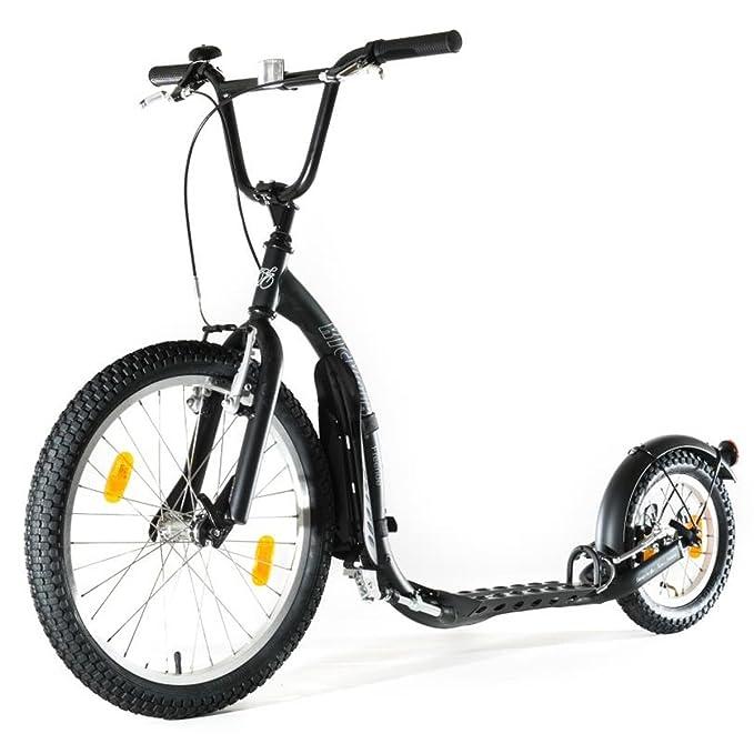 Patinete negro deportivo, Kickbike G4 kbfr-bla patinaje ...