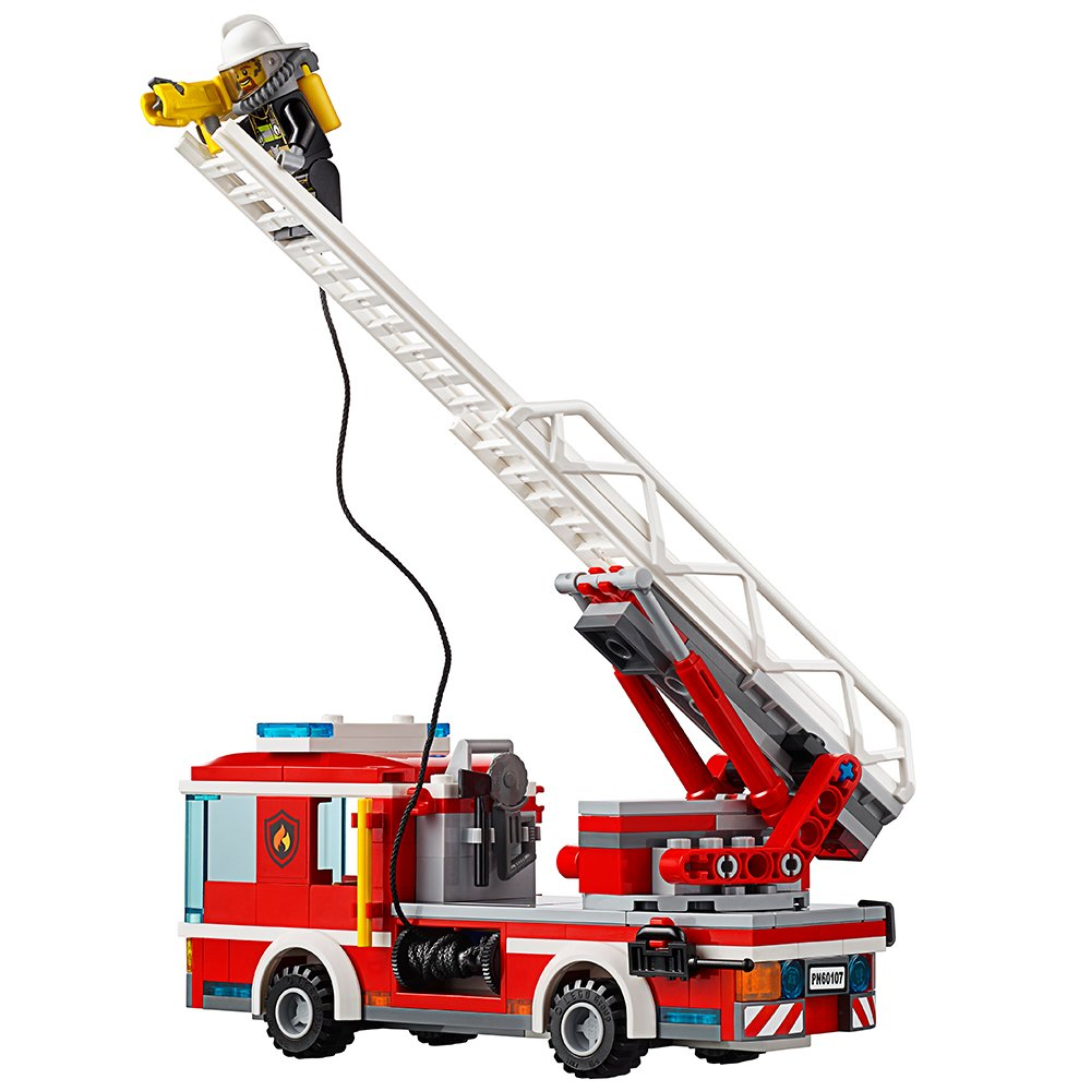 LEGO City Fire Ladder Truck 60107 by LEGO (Image #3)