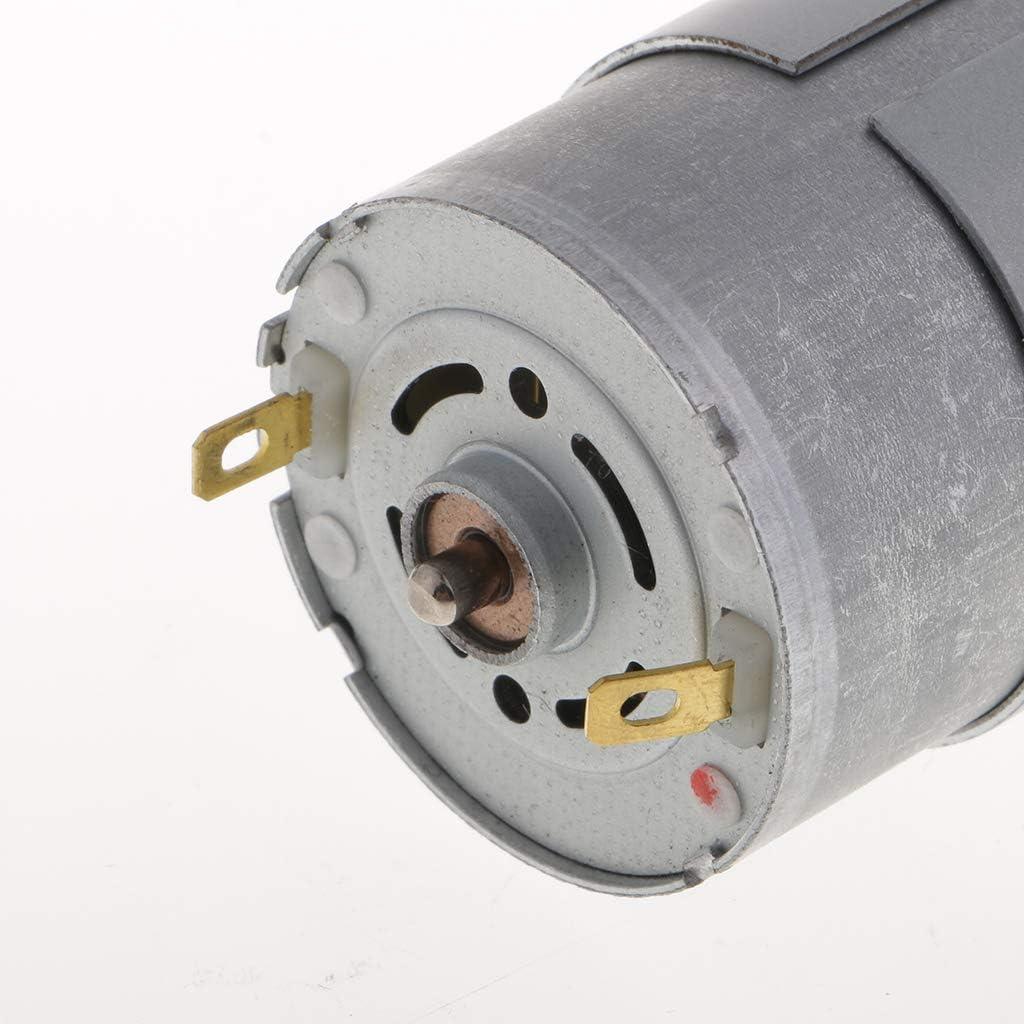 Yadianna Brushed Greased Motor XD-37GB555 DC 12V 15W Gear Motor 100RPM CW//CCW
