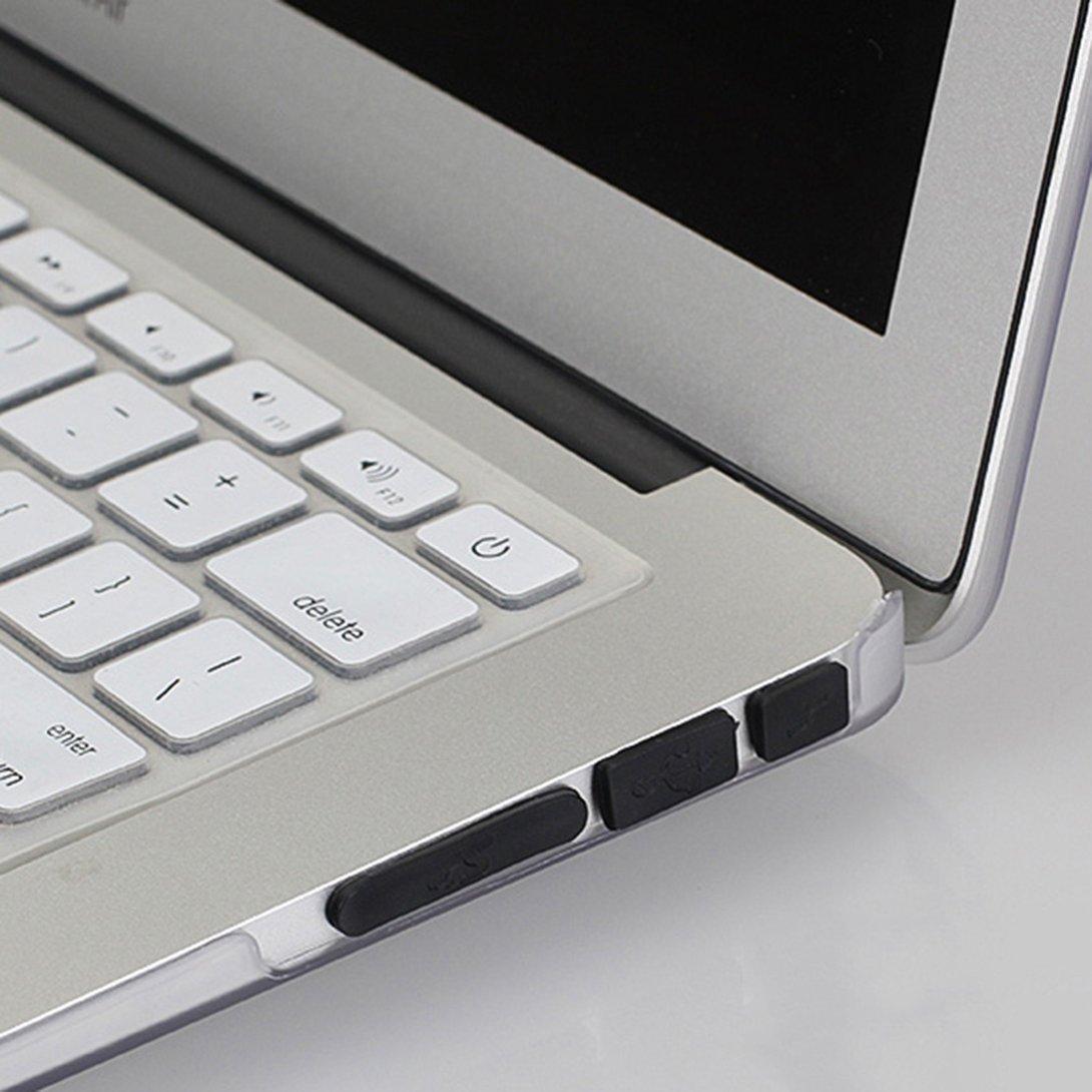 Swiftswan 12 pcs//Ensemble Silicone Anti-Poussi/ère Plug Cover Bouchon Ordinateur Portable USB Dust Plug Cover