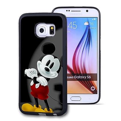 Amazon.com: Galaxy S6 Carcasa, Funda personalizada Negro ...