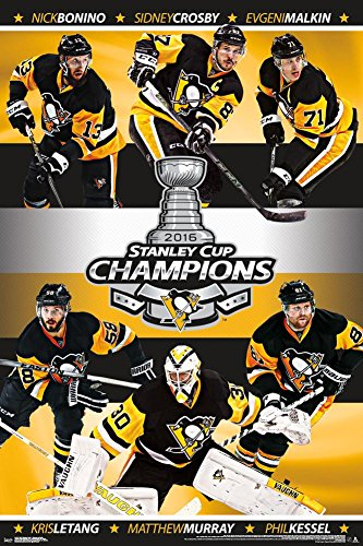 Trends International 2016 Stanley Cup Champs Collector's Edition Wall Poster 24
