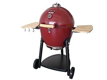 Char-Griller Kamado Kooker barbacoa de carbón y fumador, rosso