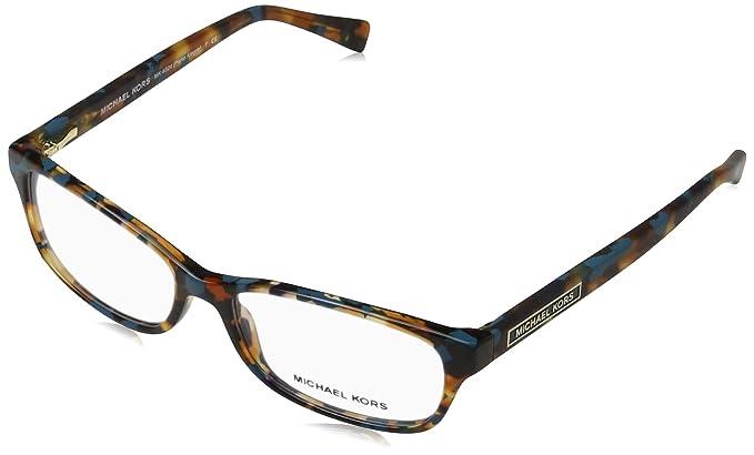 a49fc839e62 Michael Kors PORTO ALEGRE MK4024 Eyeglass Frames 3068-53 - Turquoise  Tortoise MK4024-3068-53 at Amazon Women s Clothing store
