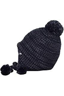 18e4f053d07 The North Face Women s Fuzzy Earflap Beanie Barolo Red One Size ...