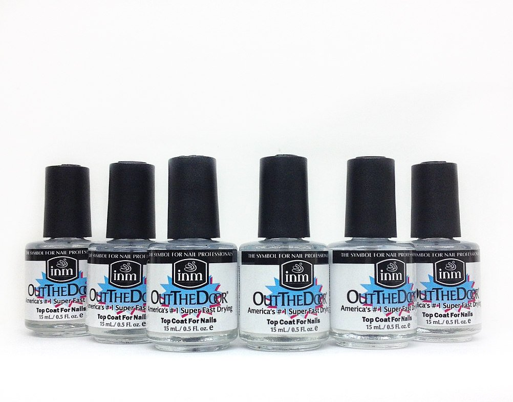 Kit Duo 6 x INM OUT THE DOOR 1/2 OZ Top Coat