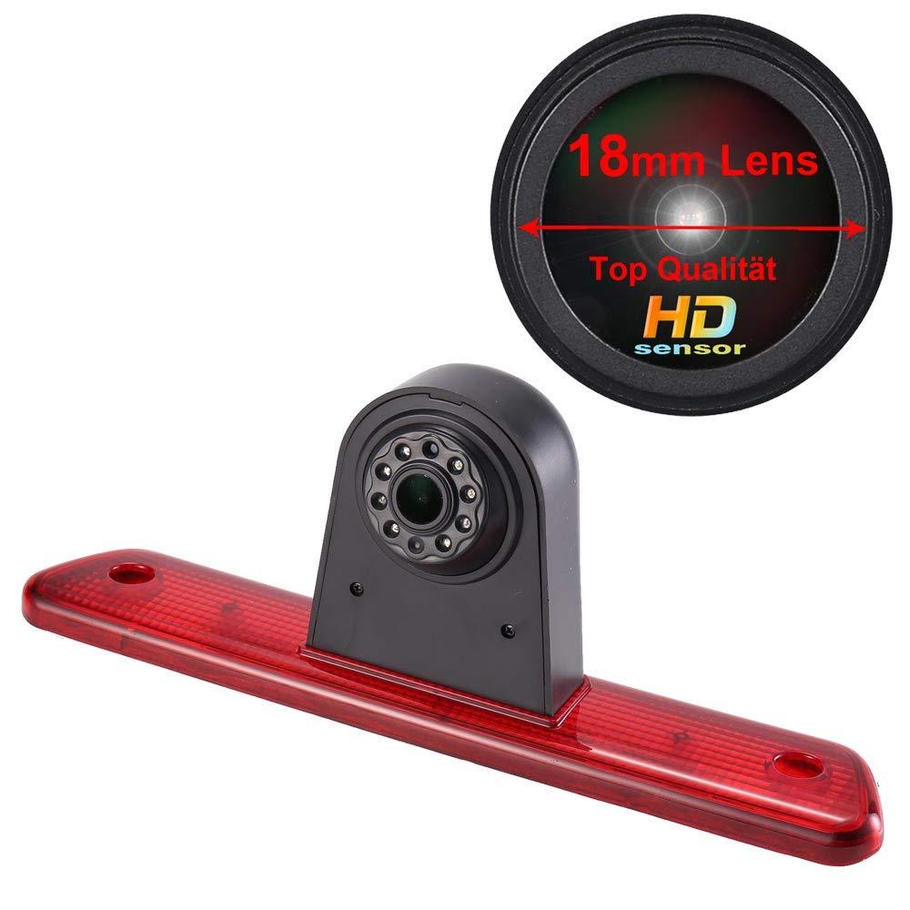 7 Inch LCD Monitor para Peugeot Expert 2007-2016//Fiat Scudo 2007-2016//Citroen Jumpy 2007-2016 Impermeable Vision Nocturna C/ámara de visi/ón Trasera,Luz de Freno C/ámara de Marcha Atr/ás