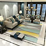 Cheap MIRUIKE Modern Abstract Area Rugs for Living Room Hypoallergenic Non-Slip