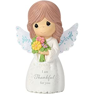 Precious Moments 162404 I Am Thankful For You, Mini Resin Figurine