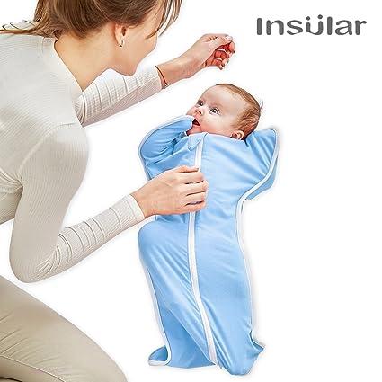 Pueri Saco de Dormir para Bebés Recién Nacidos Mantas y Colchas para Primavera y Verano Saco